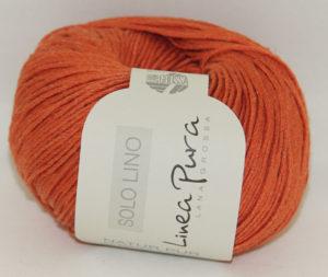 Solo Lino 016 donker oranje
