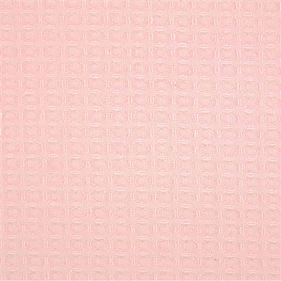 Wafelstof 704 roze, 150 breed (prijs per 10 cm)-0