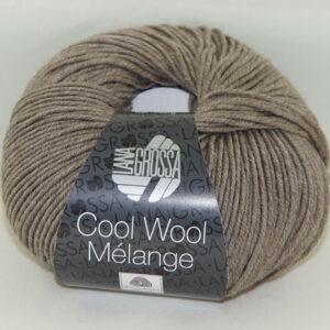 Merino Cool Wool melange 115 taupe