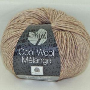 Merino Cool Wool melange 155 zand