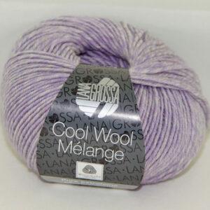 Merino Cool Wool melange 156 violet