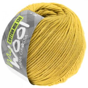Mc Wool 130 cotton mix 156 mosterd