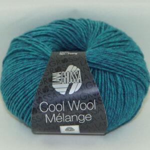 Merino Cool Wool melange 110 turquoise petrol