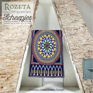 Scheepjes Cal 2019 Rozeta Twilight