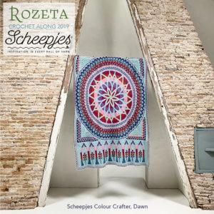 Scheepjes Cal 2019 Rozeta Dawn (zonder label)