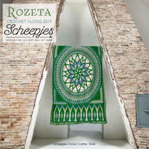 Scheepjes Cal 2019 Rozeta Dusk (zonder label)
