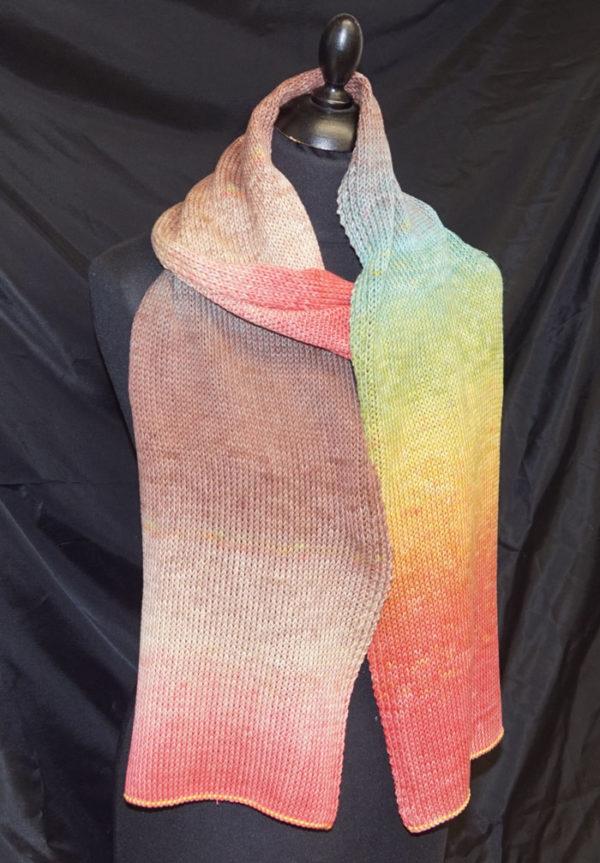 Sjaal van 2 bol Gomitolo ALOHA 308