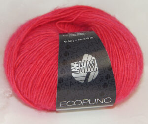Ecopuno 036 Framboos lana grossa