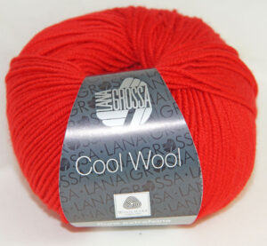 Cool Wool 417 Rood