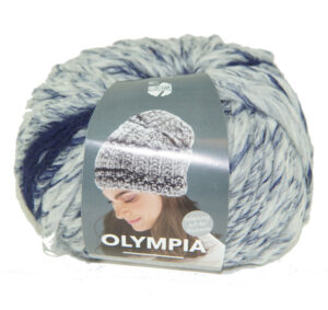 Olympia Denim 254 donkerblauw wit grijs