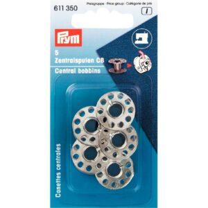 Naaimachinespoelen staal voor CB grijper Prym