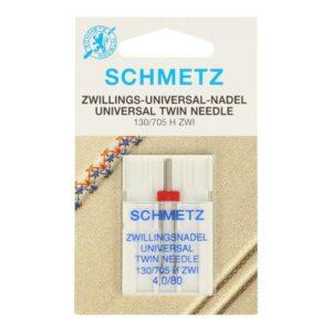 Schmetz Tweelingnaald 4.0-80