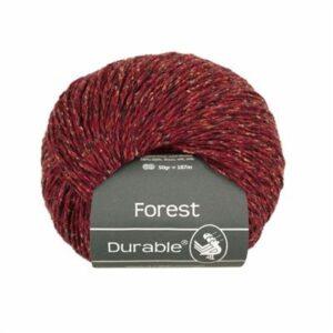 Durable Forest 4019 Bordeaux Rood