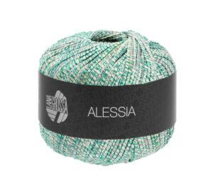 Alessia 007 (ecru, turquoise, smaragd)