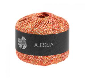 Alessia 011 (ecru, rood oranje)