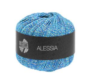 Alessia 015 ecru, blauw, turquoise)