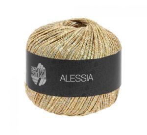 Alessia 102 (ecru, grijsgroen, goud, koper)