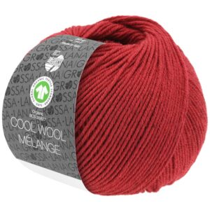 Cool Wool Mélange 115 Rood