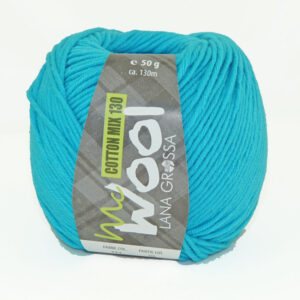 Mc Wool Cotton Mix 130 171 Turquoise