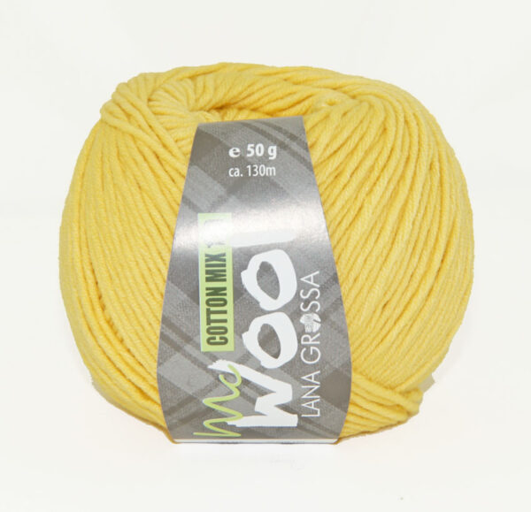 Mc Wool Cotton Mix 130 173 Geel