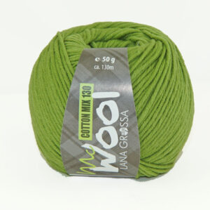 Mc Wool Cotton Mix 130 174 Erwtgroen