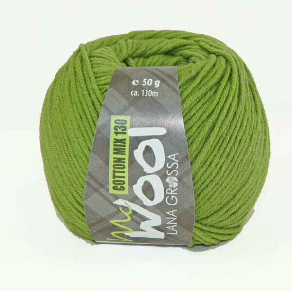Mc Wool Cotton Mix 130 174 Erwtgroen