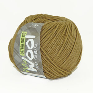 Mc Wool Cotton Mix 130 175 Zandbruin