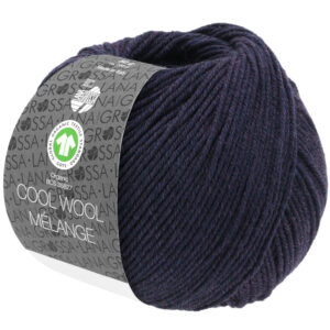 Cool Wool Mélange 102 Aubergine gemêleerd