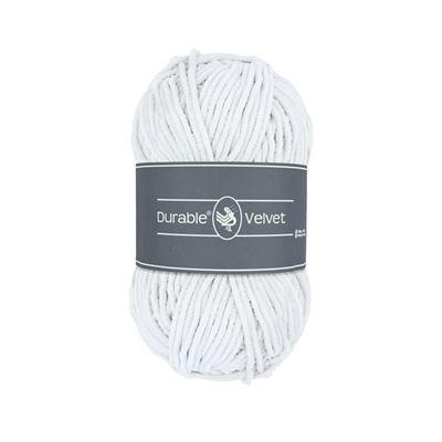 Durable Velvet 310 White
