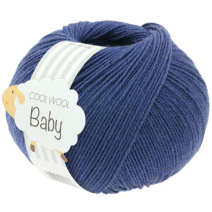 Cool Wool Baby 288 Inktblauw