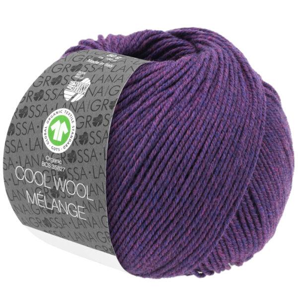 Cool Wool Mélange 103 Donkerviolet
