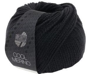 Cool Merino 014 Zwart