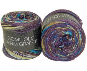 Gomitolo Denim Graffiti 354