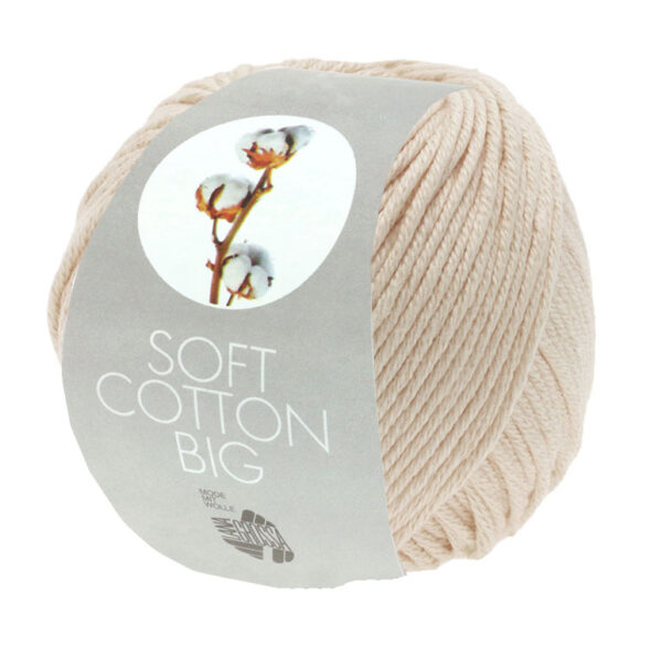 Soft Cotton Big 22 Creme
